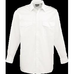 Pilothemd PREMIER - langarm