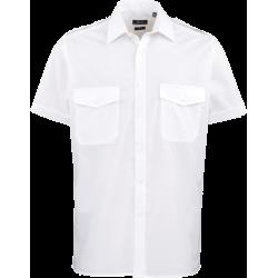 Pilothemd PREMIER - kurzarm